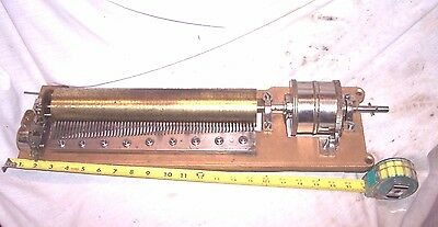Antique Music Cylinder Music Box Mechanism....large One