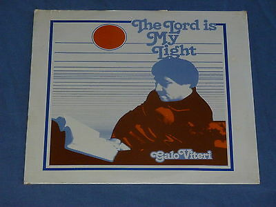 GALO VITERI the lord is my light LP xian Christian PINEBROOK new SEALED