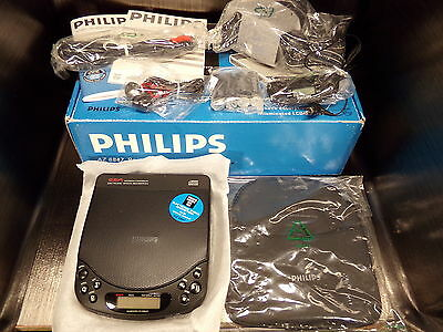 Lecteur cd portable PHILIPS AZ 6847 complet 1994