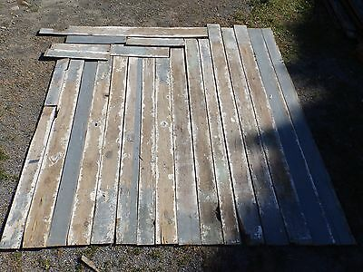 Genuine Antique Hemlock Wide Plank Tongue & Groove Flooring 150 sq ft 1773-16