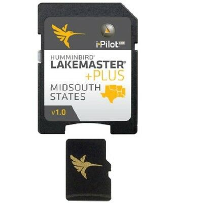 Humminbird Lakemaster PLUS - MidSouth States Map Card