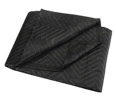 "40"" x 72"" MOVERs BLANKET BLACK poly cotton PaDDed Quilted furniture moving Pad"
