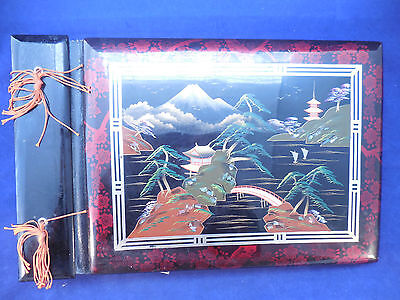 1952 To Japan And Back Photos In Lac Ware Japanese Album With Music