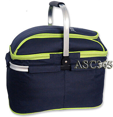 Last One ! New Distinctive Picnic Basket Family Picnic Compact and Lightweight