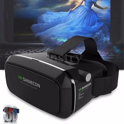 VR Virtual Reality 3D Glasses Goggles Cardboard Movie Gaming For 3.5-6'' Phone