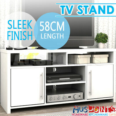 TV Stand Entertainment Unit Cabinet Storage Drawers White Drawers Table RRP$349
