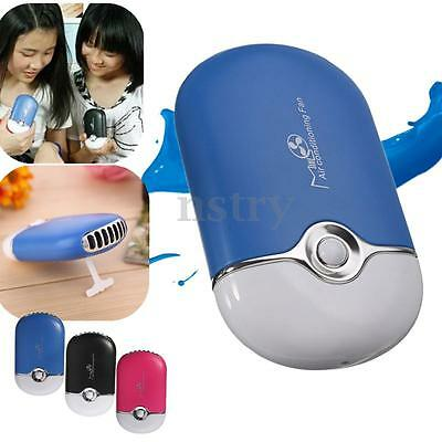 Rechargeable Portable Handheld Mini Air Conditioner Refrigeration Cooling Fan