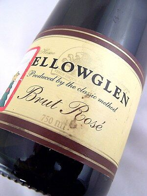 1999 circa NV YELLOWGLEN Vineyards Brut Rose Sparkling Isle of Wine