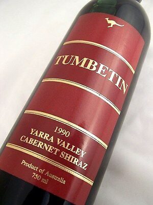 1990 TUMBETIM Cabernet Shiraz Isle of Wine
