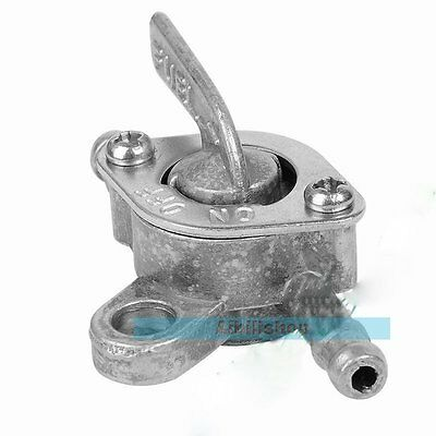 6mm Inline Fuel Tank Zinc Tap Filter Switch For Quad Dirt Bike ATV Buggy【UK】
