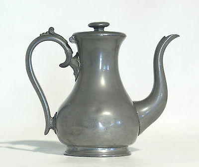 Antique Pewter Coffee Pot – James Dixon and Sons