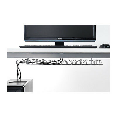 IKEA SIGNUM Cable Trunking Horizontal Wire Organiser Under Desk Table Management