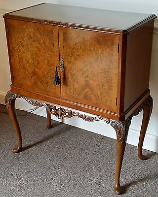 Good Quality Retro Walnut Cocktail Cabinet. FREE DELIVERY