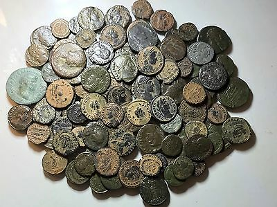 *LIMITED TIME OFFER* 3 X Authentic Ancient Roman Coins. Various Types And Mints