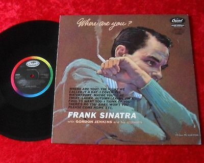 Frank Sinatra LP Where are you (DMM) TOP ZUSTAND!