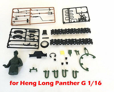 Heng Long radio controlled Panther G tank 1/16 complete accessory set deco set