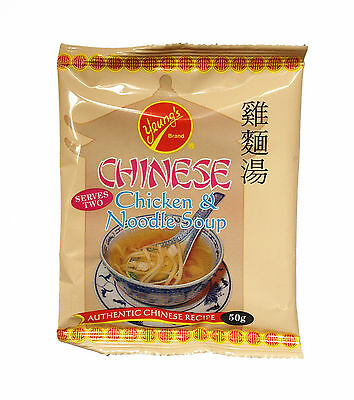 INSTANT CHINESE CHICKEN NOODLE SOUP 50g