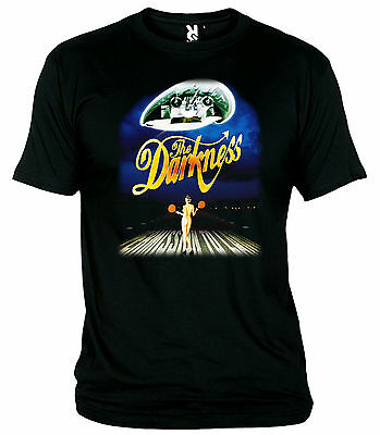 """T-Shirt """"the Darkness-Permission To Land-Hard Rock-2003""""   T-Shirt"""