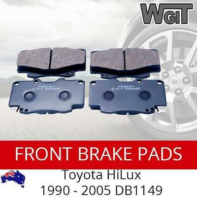 Front Disc Brake Pads to Suit Toyota HiLux 1990 - 2005 - DB1149