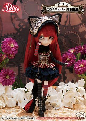 Groove Pullip Cheshire Cat in STEAMPUNK WORLD P-183 Doll Action Figure NEW!!