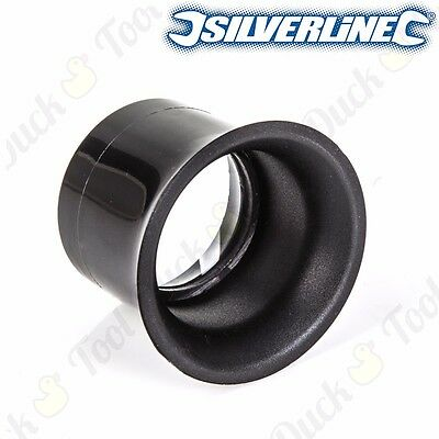 SILVERLINE MAGNIFIER 5x MAGNIFICATION LOUPE Watchmakers Inspecting Tool Eyeglass