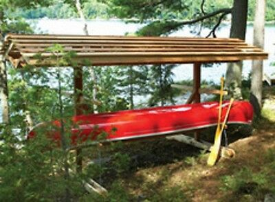 Canoe / Kayak Storage Stand Plans ~ FREE Shipping