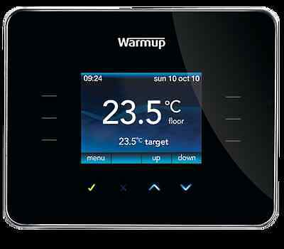Warmup 3ie Digital Thermostat for Underfloor Heating All Colours