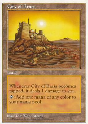 City of Brass | EX | 5th | Magic MTG
