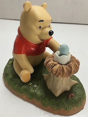 "DISNEY WINNIE THE POOH & FRIENDS ""WELCOME LITTLE ONE"" FIGURINE - Mint! CD102"