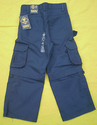NEW Boy Scouts Cub Scouts 'Switchback 2' Uniform Pants Youth 4 NWT