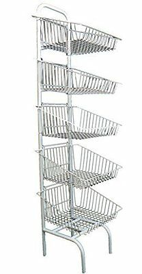 5 Tier Basket Stand Bread Crisps Q5