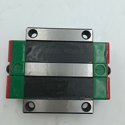20mm HGW20CC Carriage HIWIN Rail Block Slider for HGR20 Linear Guide CNC Router