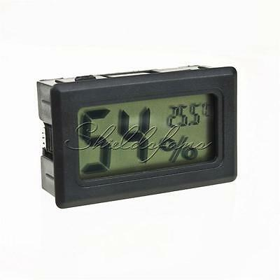 Mini Digital LCD Indoor Temperature Humidity Meter Thermometer Hygrometer New