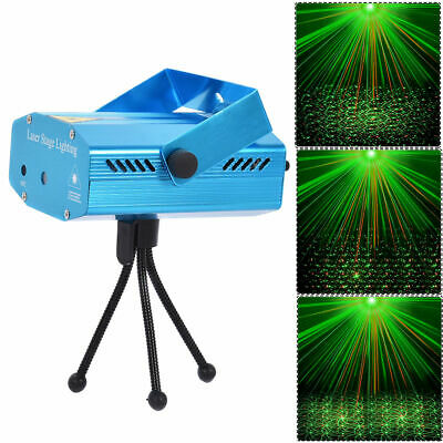 4 In 1 Mini LED R&G Laser Projector Stage Lighting Christmas Disco Party Club DJ