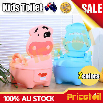 OZ Safety Kids Children Baby Toddler Toilet Training Potty Trainer Seat Chair
