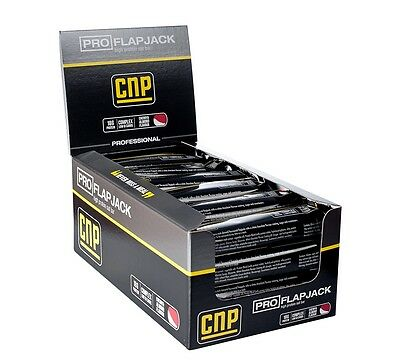 CNP Professional Pro-Flapjack Bars - 24 Bars, Protein Flapjack (Cherry & Almond)