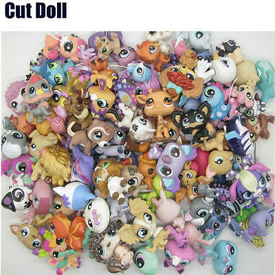 Cute Doll Lot 20 PCS Littlest Pet Shop Dog Loose Child Girl Toys Gift