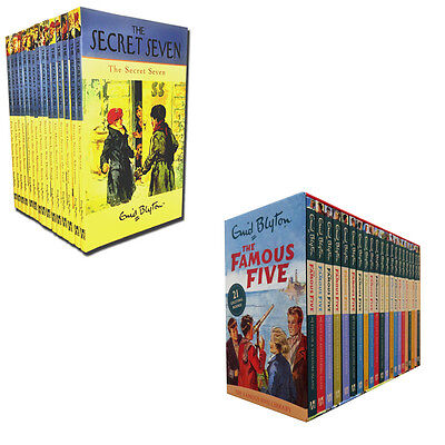 Enid Blyton Famous Five and Secret Seven 36 Books Collection Set Pack Brand NEW