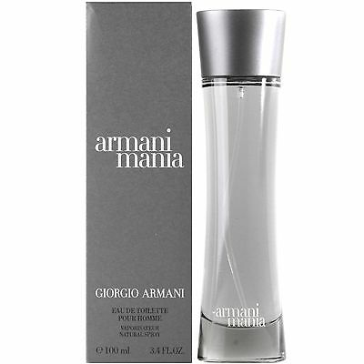 Giorgio Armani Mania for Men Eau de Toilette 100ml Spray * NEW, BOXED *