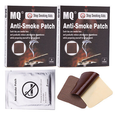 60 Patches Natural Herbal Stop Smoking Patch Nicotine Patches Quit Stop Smoking