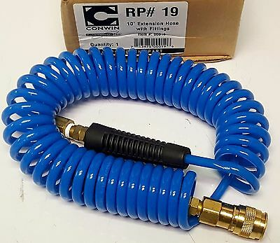 Conwin 00019 10' Extension Hose with Fittings
