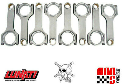 """Lunati Voodoo 70361251-8 Gm Ls Ls1 Ls2 4340 Forged H-Beam Connecting Rods 6.125"""""""
