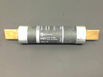 Gould Crs 150A Time Delay Fuse 600V Type D Lot Of 2 **tested** (D954)