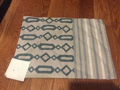 NWT Pottery Barn Kids/Baby Soho Crewel Decorative Pillow Cover Sham 12x16""