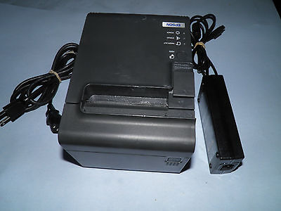 EPSON TM-T90 M165A Thermal POS Receipt Printer with Power Supply SERIAL