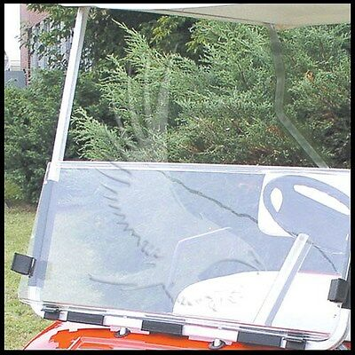 Yamaha G22 Clear Windshield 2003-'06 Folding Style High Quality Golf Cart Part