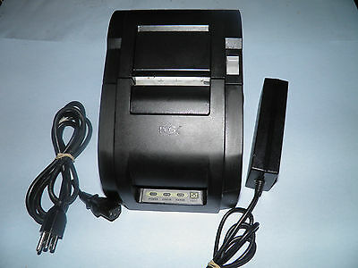 POS-X Xr210 Thermal POS Receipt Printer with Power Supply USB Free USB Cable