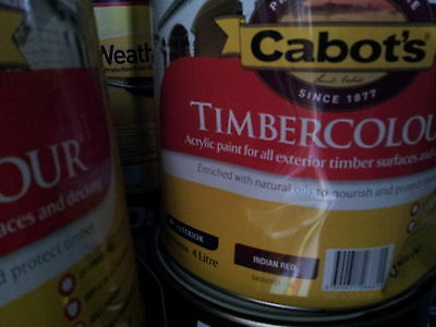 Cabbots By Dulux 4 Litre Timbercolor Exterior Low/sheen Ochre Colour Paint