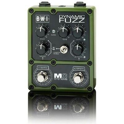 MC Systems 'Apollo' BWI Dynamic Fuzz Guitar Pedal 'HALF PRICE CLEARANCE'