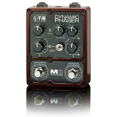 """NEW MC Systems 'Apollo' LYN Dynamic Phaser Guitar Pedal """"HALF PRICE CLEARANCE"""""""